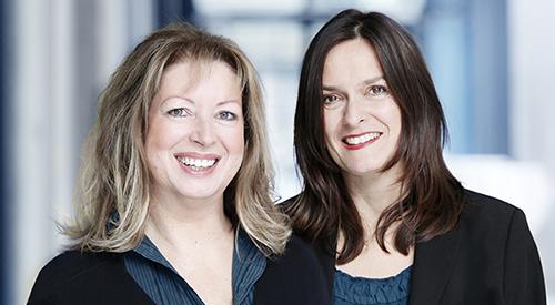 Sabine Pardigol und Katharina Sieckmann